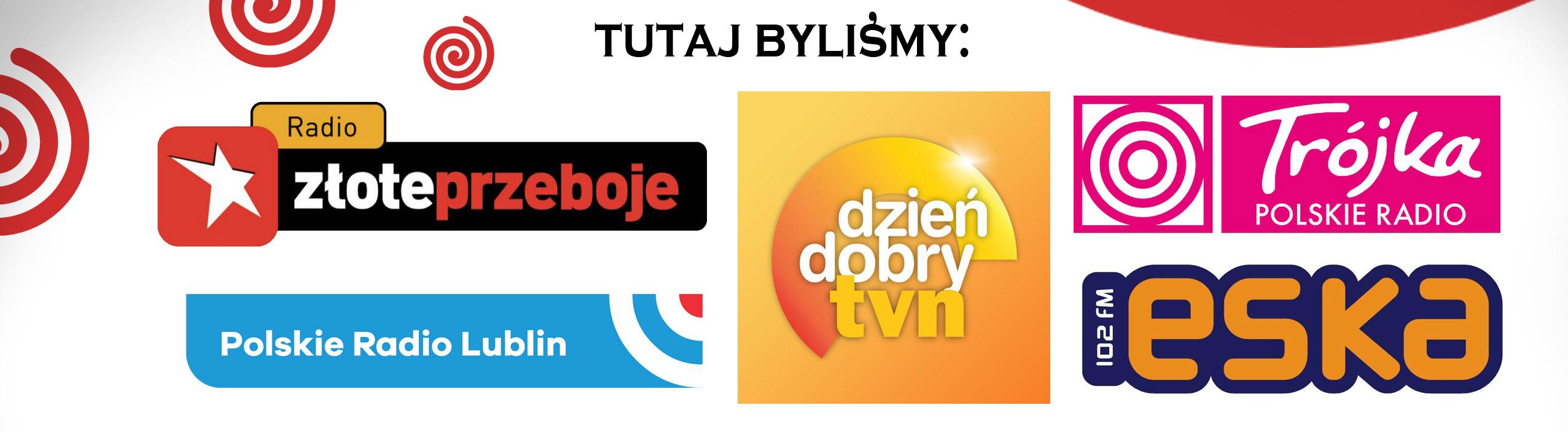 miejsca, w których była apokalipka, radio eska, dzień dobry tvn, radio złote przeboje, polskie radio lublin, trójka polskie radio